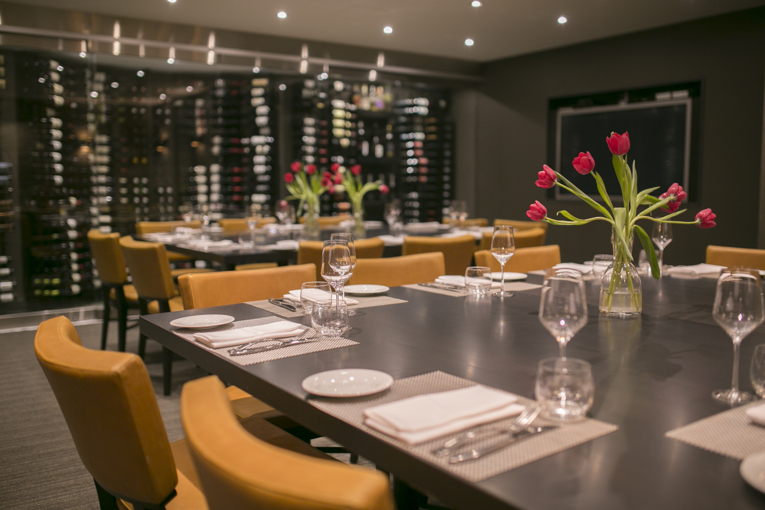 Treadwell cuisine niagara restaurant catering for Best private dining rooms toronto